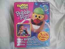 1998 Mr. Potato Head Bubble Fun KOOSH BUBBLES OddzOn Toys NEW NRFB Rare Hasbro