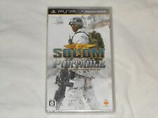 NEW Socom U.S. Navy Seals Portable JAPAN Sony PSP Game SEALED Japanese Version J
