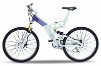 Audi design Cross Bike, Welly Fahrrad Modell 1:10