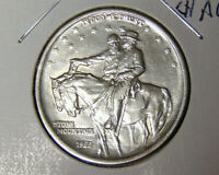 Choice AU 1925 Stone Mountain Commemorative Civil War Half Dollar (101820)