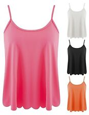 Women's Classic Polyester No Pattern Scoop Neck Tops & Shirts