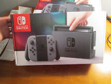 BRAND NEW Nintendo Switch 32GB Gray Console with Gray Joy-Con AUTHENTIC