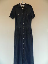 Nobody Denim Shirt Dress Maxi Size Medium