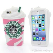 Starbucks 3D Silicone Starbucks Cup Phone Case Cover For Iphone SE 5 6 7 Plus