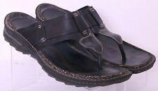 Rockport I.Travel APM24251 Black Thong Flip Flop Sandal Shoes Euro 44 Mens US 11