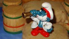 Smurfs Captain Papa Smurf 20141 Rare Vintage Display Classic Figure HK 1981