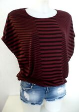 Haut ♥ ONLY ♥ Taille XS 32 34 36 Top t-shirt ample loose Femme