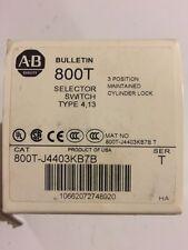 Allen Bradley 800T-J4403KB7B New In Factory Box