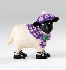 Ewe & Me  A26901  Isla Sheep Figurine in Gift Box Wears Tartan Hat & Scarf 23139