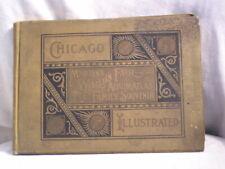 1893 CHICAGO MARTIN'S COLUMBIAN  WORLD FAIR ALBUM ATLAS AND FAMILY SOUVENIR