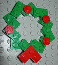 LEGO LEGOS Christmas Wreath Ornament/15 Pieces