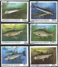 Aserbaidschan 98-103 (kompl.Ausg.) gestempelt 1993 Fische