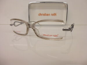 Original Plastic Glasses Women's Glasses Christian Roth, Cr 14048 Size 53