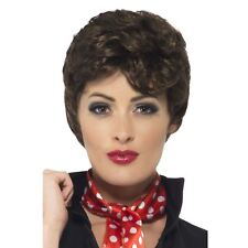 Adult Ladies Official Licensed Rizzo Grease Wig 50s Retro Fancy Dress Accessory