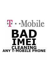 T-MOBILE USA IMEI Cleaning SERVICES 1-19 days Blocked/ LOST/STOLEN NO FRAUD