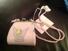 Disney Disneystore exclusive tinkerbell purse with strap and labels brand new