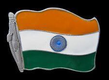 Belt Buckle Boucle De Ceinture India Indian National Flag Delhi