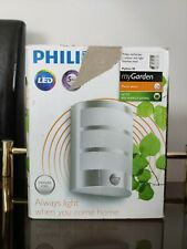 Philips MyGarden Python IR Stainless Steel Wall Light with Motion Sensor