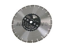 """14"""" 350 mm laser soudés diamond disque/lame tout usage asphalte acier béton"""