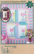 SUNSHINE & SHADOWS PINE TREE LODGE DESIGNS IN THE GARDEN/IN THE FOREST 3 SIZES