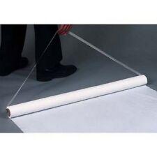 150' White Poly (Plastic) Wedding Aisle Runner W/Tape&Rope