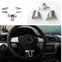 ENJOLIVEURS CHROME CLIPS CACHES VOLANT VW TOURAN TIGUAN POLO CADDY EOS PASSAT CC