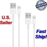 2pcs Lightning Cable Apple iPhone 6s Data Cord Sync USB Charger for 5 5C 5S 6 +
