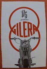MOTO GILERA 175 Arcore Milano 1959 prospetto Italia Oldtimer Moto da collezione