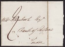 1828 Birmingham to Bank of England 9d rate