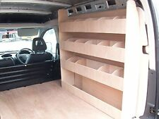Vauxhall Combo Plywood Van Racking Storage Accessories 2001 - 2012