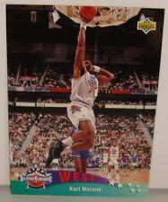 CARTE DE COLLECTION NBA BASKET BALL 1993  WEST ALL STARS KARL MALONE (14)
