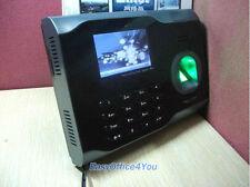 Alto Rendimiento Biométrico De Huella Digital Reloj De Tiempo Asistencia TCP/IP + Wifi + Usb