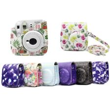 PU Leather Camera Shoulder Bag Cover Case Pouch for Fujifilm Instax Mini 9/8/8+