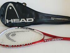 Head Ti.laser Titanium Squash Racket Racquet W/ Bag Good Condition TI Laser