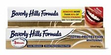 8x 125ml EXTRA LARGE 165g Beverly Hills total protection Whitening toothpaste