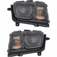 CHEVY CAMARO 2010-2015 PAIR HID HEADLIGHTS HEAD LAMPS LIGHTS W/BULBS BALLAST ZL1