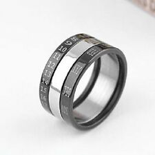Stainless Steel Unisex Rings