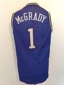 ORLANDO MAGIC *MCGRADY #1* VINTAGE CHAMPION NBA JERSEY MEDIUM
