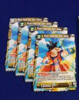 Dragon Ball Super Pure Hearted Son Goku P-061 [SDCC 2018 Exclusive] DBS TCG