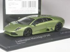 Top: Minichamps LAMBORGHINI MURCIELAGO LP 640 verde metallizzato in 1:43 IN SCATOLA ORIGINALE
