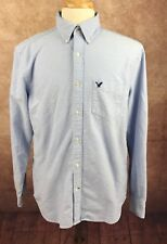 American Eagle Outfitters Classic Fit 100% Cotton Blue Oxford Shirt Men's L