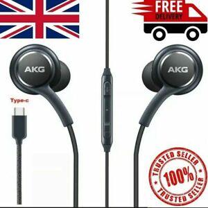 SAMSUNG GALAXY NOTE 10/10+ AKG EARPHONES HEADPHONES USB TYPE C BLACK