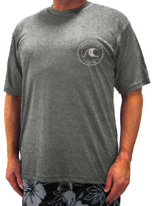 Big & Tall H2O Sport Tech Short Sleeve Swim Shirt - Loose Fit 2XL - 5XLT UPF 50+