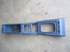 NISSAN 300ZX BOX ASSY-CONSOLE,FRONT FLOOR BLUE 1986