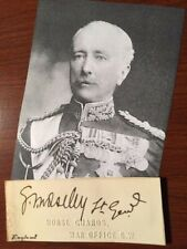 GARNET WOLSELEY (1ST VISCOUNT WOLSELEY) SIGNED CARD BRITISH FIELD MARSHAL AUTHOR