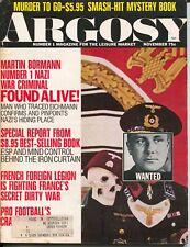 Argosy 11/1970-Popular-Martin Bormann #1 war criminal-pulp thrills-VG