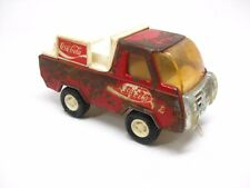 Vintage Buddy L. Corp Coca-Cola Red & White Toy Metal Delivery Truck Japan Coke