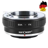 K&F Concept Adapter Exakta Objektiv auf Fuji X Mount Kamera, EXA-FX