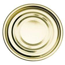 100 Stück Deckel für Konservendosen 99 mm Durchmesser - Falzdeckel