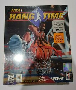 NBA Hang Time 1996 Midway Basketball PC Brand new sealed w/ original stickers